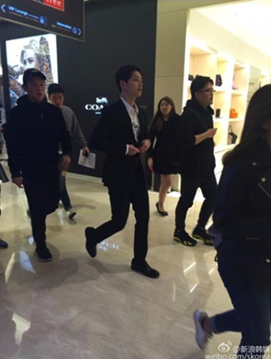 Joong Joong Ki syuting Hurry Up Brother