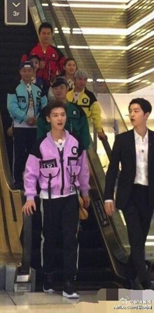Joong Ki syuting Hurry Up Brother