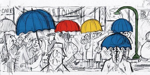 Berawal dari Coretan, Mario Miranda Kini Hiasi Google Doodle