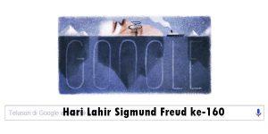 Hari Lahir ke-160 Tahun Sigmund Freud Dirayakan Google Doodle Hari ini