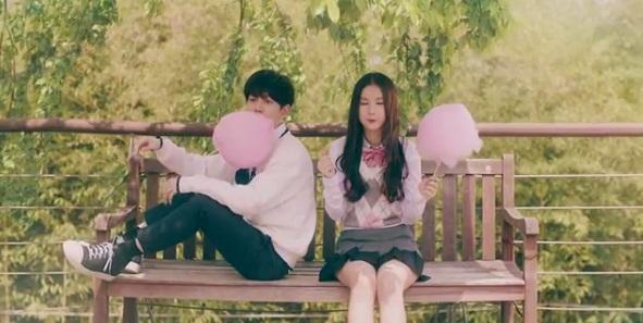 Begini Mesra Ala Park Kyung Block B dan Eunha GFRIEND