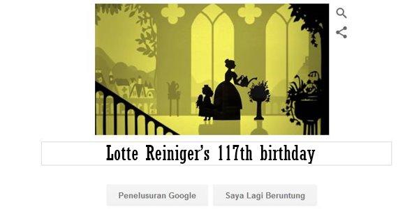 Lotte Reiniger's 117th birthday