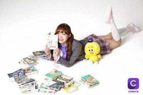 Choi Yoo Jung IOI Ternyata Sangat Suka 'Comica'