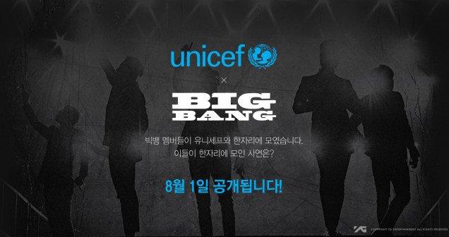 Kolaborasi Dengan UNICEF, Begini Video Teaser Big Bang