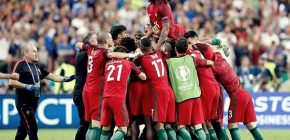 Cetak Gol Lawan Prancis, Eder Bawa Portugal Juarai Euro 2016