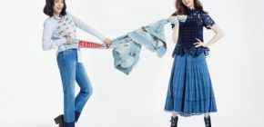 Bora dan Dasom Sistar Berbalut Denim Untuk Pemotretan 'InStyle'