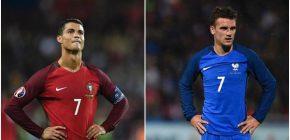 Final Euro 2016 Jadi Penentu Ronaldo dan Griezmann di Ballon d'Or 2016