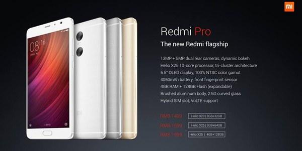Spesifikasi dan harga Redmi Pro Indonesia