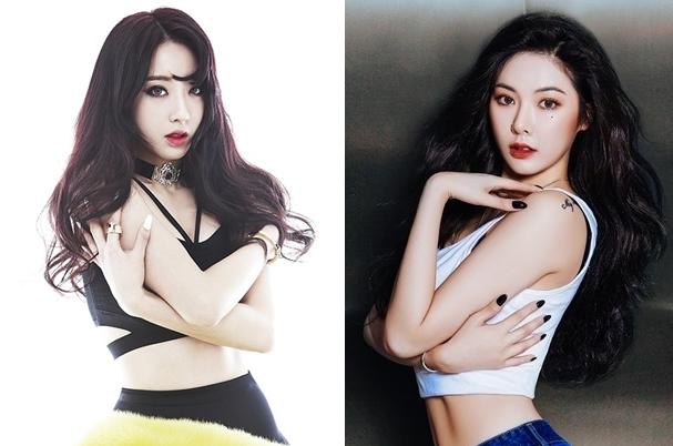 Kyungri Nine Muses: HyunA Bisa Menganggapku Rival