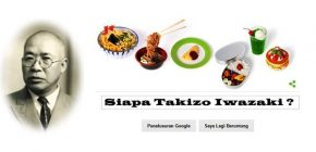 Peringati Ulang Tahun Takizo Iwasaki di Google Doodle
