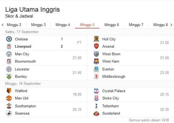 jadwal-liga-inggris-september-2016-terbaru-pekan-kelima