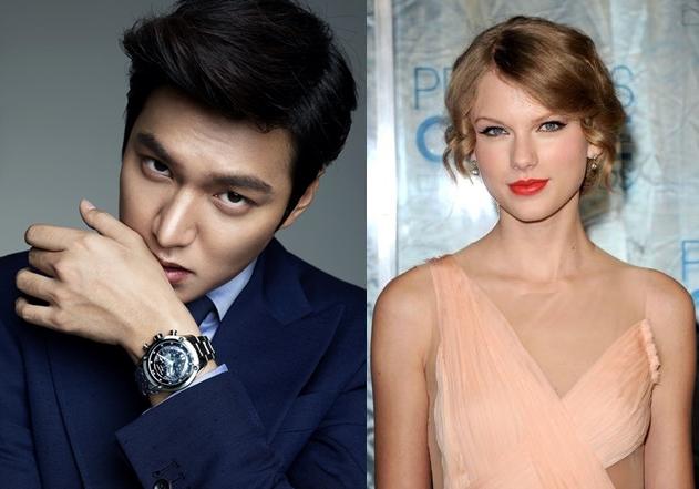 MYM: Lee Min Ho dan Taylor Swift Belum Pernah Bertemu