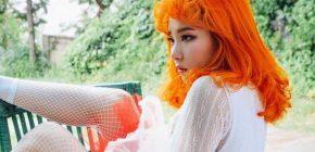 Sulap Red Velvet Jadi Boneka, Seulgi Unyu Dengan Rambut Oranye