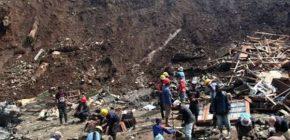 Terkendala Cuaca, 11 Penambang Korban Longsor di Jambi Masih Terjebak
