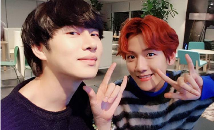 Heechul dan Baekhyun Rilis Keseruan 'SM Super Celeb League'