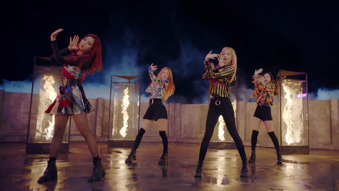 4 Hari Rilis, MV 'Playing With Fire' Black Pink Raih Lebih Dari 10 Juta View
