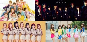 EXO - TWICE, Ini Line Up '2017 Idol Star Athletics Championship'