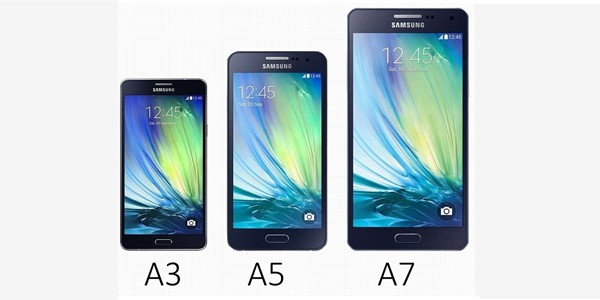Kenalkan Keluarga Galaxy A, Ini Perbedaan Spek Galaxy A3, A5 dan A7