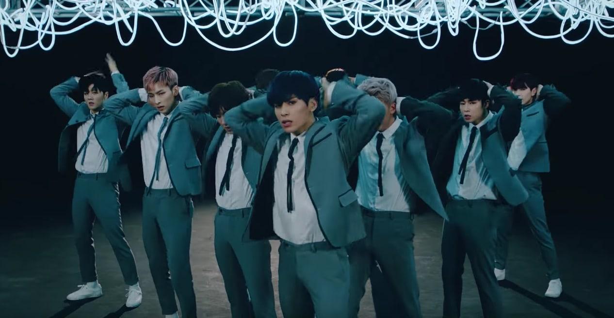 "Rilis MV ""Easy Love"", SF9 Tunjukkan Seksi Manly Sekaligus Seksi"