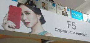 Sudah Sebar Undangan, Inilah Tanggal Rilis Oppo F5 di Indonesia