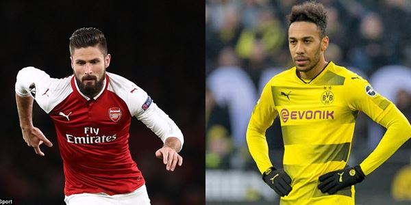 Arsenal Sudah Bocorkan Kontrak Aubameyang, Giroud Segera ke Chelsea