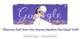Mengenang Sosok Terese Teng, Penyanyi Legendaris Lewat Google Doodle
